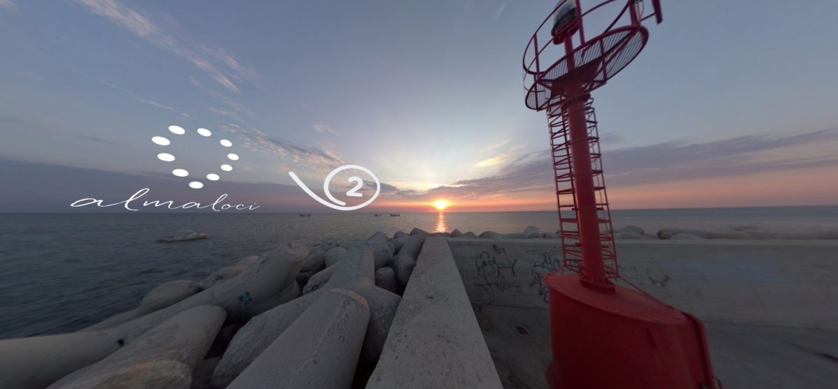 Giro Girotondo al Tramonto a Pesaro: un walkscape a realtà aumentata