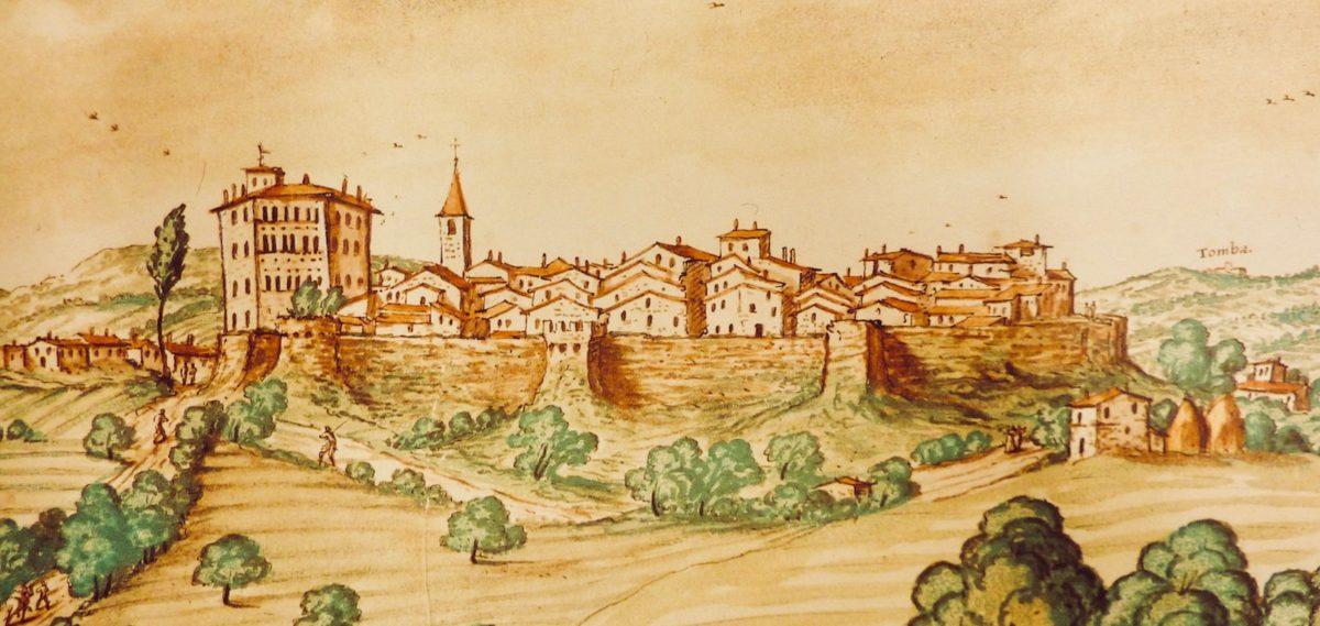 Con gli occhi di Giulio Perticari, il paesaggio tra Pesaro e Sant'angelo in Lizzola